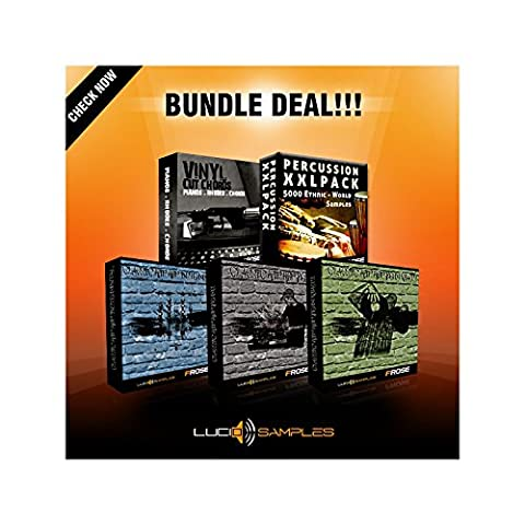 Classic Hip-Hop Bundle - 5 in 1 [WAV] [DVD non BOX]