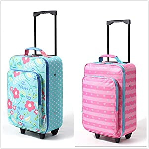 SF-world Oxford Cloth Childrens/Kids Luggage Carry On Travel Hand Luggage, Children's Suitcase, School bags-17Inch