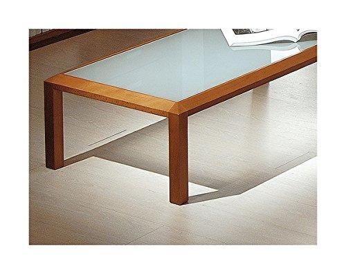 Arosio Bernardel - Tavolino rettangolare con struttura in massello di