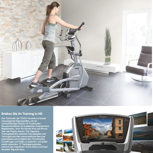 Zoom IMG-1 xf40i touch vision fitness ellittica