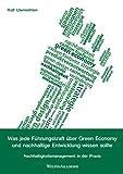 Was jede Führungskraft über Green Economy und nachhaltige Entwicklung wissen sollte: Nachhaltigkeitsmanagement in der Praxis