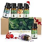 Ätherisches Öle, GLAMADOR Ätherische Öle Set (6x10ml), Duftöl für Essential Oil für Aromatherapieiffuser, 100% Rein Öle, Weihnachtsgeschenk, Ätherische Öle Für Diffuser, Perfekte Geburtstagsgeschenk