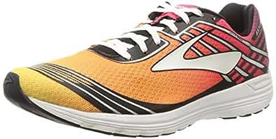 Brooks Women's Asteria Plum Caspia/Diva Pink/Orange Pop Athletic Shoe