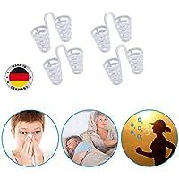 Schnarchspirale Made in Germany 4er Set, Weitung der Nasenlöcher, Verbesserung der Luftzufuhr, Anwendung bei Schnarchgeräuschen... preisvergleich bei billige-tabletten.eu