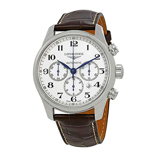 Longines Master Collection - Esfera automática (44 mm), Color Blanco