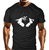 Gym T-Shirt - New Grumpy Beast - Bodybuilding T Shirt - Training Top - Sports - Bodybuilding Casual Loose Fit Top - Funny S,M,L,XL,XXL,2XL,3XL (L)