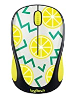 Logitech M238 Party Collection Wireless Mouse - LEMON