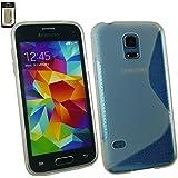 Emartbuy® Samsung Galaxy S5 Mini SM-G800 Ultra Slim Gel Hülle Schutzhülle Case Cover Clear