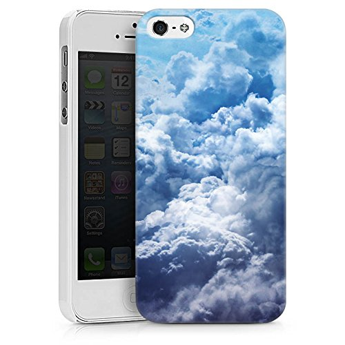 Apple iPhone X Silikon Hülle Case Schutzhülle Wolken Himmel Landschaft Hard Case weiß