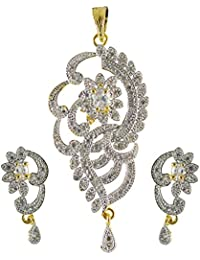 Lovely Pendant Set For Traditional Wear