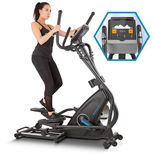 capital sports helix star mr cross trainer • magnetic bike • cyclette con training computer • bluetooth • integrazione app • volano 21 kg • supporto tablet • nero