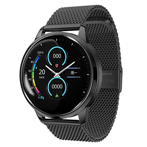 jiegege orologio sportivo ecg, braccialetto intelligente ecg + ppg ecg hrv rapporto test della frequenza cardiaca, impermeabile ip67, modalità sport multiple