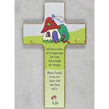 Croix pour enfant avec champignon