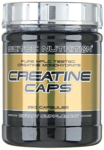 Scitec nutrition creatine caps, 250 capsule