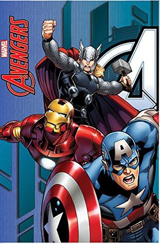 Coperta in pile The Avengers Marvel Avengers