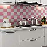 lsaiyy Pegatinas de Cocina Impermeables y reacondicionadas con Aceite gabinete Estufa Autoadhesivas Adhesivos de Pared Papel Pintado- 60CMX3M