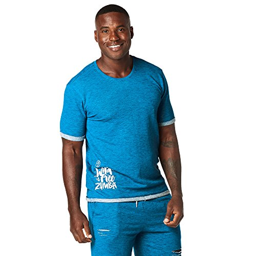 Zumba Fitness® Hombre Wild About Zumba té Hombres Tops