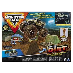 Spin Master Monster Jam Monster Dirt Deluxe Set - 1:64 - Sets de Juguetes (Coche y Carreras, 3 año(s), Niño, Interior y Exterior, Multicolor, 1:64)
