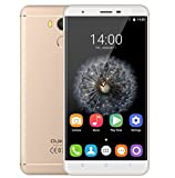 Oukitel U15 Pro - smartphone 4G schermo 5,5 pollici 3GB di RAM 32GB ROM Camera 16.0MP posteriore Android 6.0 di impronte digitali Bluetooth 4.0 - ORO TYRANT