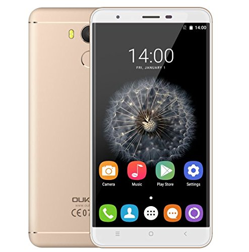 Oukitel U15 Pro - 5,5-Zoll-Bildschirm 4G-Smartphone 3GB RAM 32GB ROM 16.0MP Hintere...