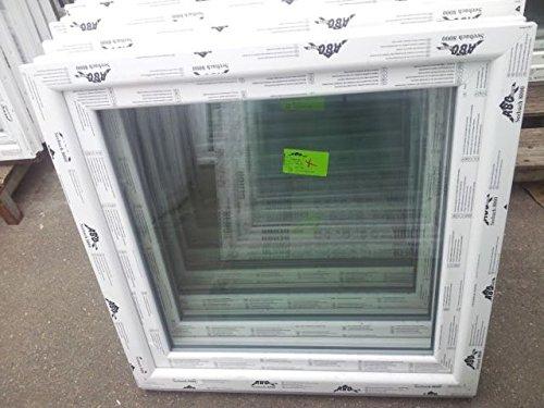 Kunststofffenster Seebach8000 100x100 cm (b x h), weiß, DIN rechts