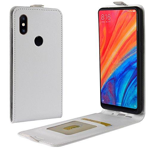 Xiaomi Mi Mix 2s Cover Custodia Custodia morbida Custodia Smartphone per Xiaomi Mi Mix 2s Con la funzione di supporto (Bianca)