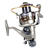 Yoshikawa Saltwater Fishing Spinning Reel Baitrunner Aluminum Spool Handle 11 Ball Bearings CY5000