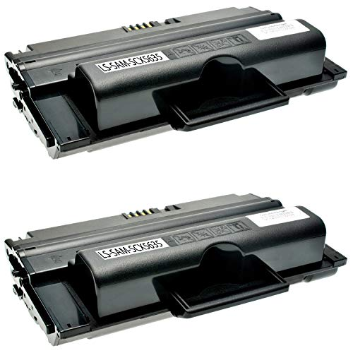 5835fn Scx-5935fn-serie (2 Toner kompatibel zu Samsung SCX-5635FN HN SCX-5638FN SCX-5835FN NX 5800 Seires SCX-5935FN NX 5900 Series - MLT-D2082L/ELS - Schwarz je 10.000 Seiten)