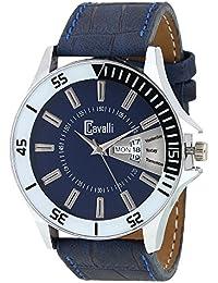 Cavalli Analogue Blue Dial Men's & Boy's Watch -Crcw898