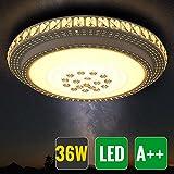HG® 36W LED Wand-Deckenleuchte Rund Flurleuchte deckenleuchte Starlight-Design