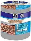 Bande Adhésive Anti-Fissure, Dip étanch - Gris, 3m x 10cm