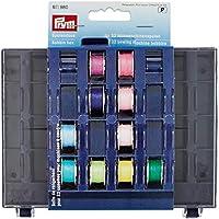 Prym - Caja para bobinas (3 x 13 x 16 cm, 32 Compartimentos)