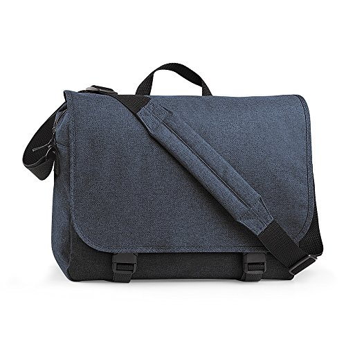 BagBase Messenger Tasche Two-Tone Anthrazit