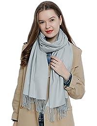 aa3cc8259 Large women's winter scarf 72.8 x 25.6