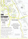 Exe Estuary Walking & Cycling Map: Exeter to Dawlish Warren & Exmouth Including Topsham