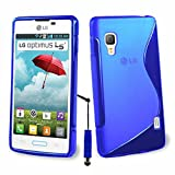 LG Optimus L5 II E460 Custodia HCN Phone S-Line TPU Gel silicone cover morbida per LG Optimus L5 II E460