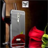 Honor 6X Back Cover - TheGiftKart Mirror Back Cover with Metal Bumper (Graphite Black) (FESTIVE OFFER + FREE DELIVERY)
