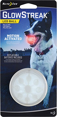 Nite Ize Signalball GlowStreak LED Ball rot, One Size -