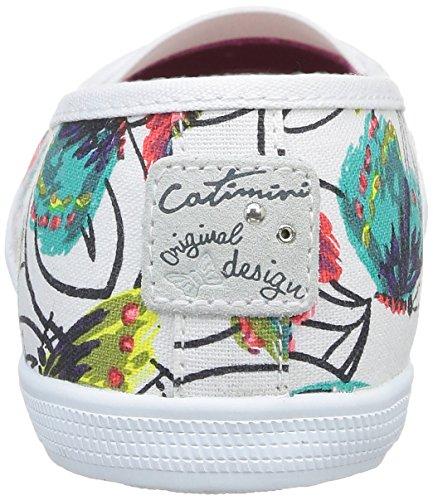 Catimini Camea, Ballerines fille Multicolore (52 Ttx Imprimé Turquoise)
