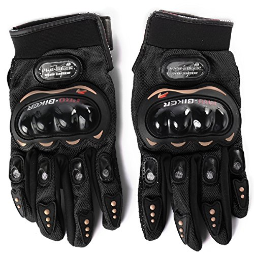 xcsourcer-guantes-de-carreras-para-motos-bicicletas-seguridad-dedos-completos-pro-biker-negro-l-os43