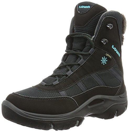 Lowa Trident Ii Gtx Ws, Chaussures de Randonnée Hautes Femme, Gris (Anthrazit/petrol_anthracite/Petrol), 42.5 EU