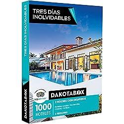 DAKOTABOX - Caja Regalo - TRES DÍAS INOLVIDABLES - 1000 escapadas en hoteles rurales, masías, cortijos o haciendas en España, Francia, Portugal e Italia
