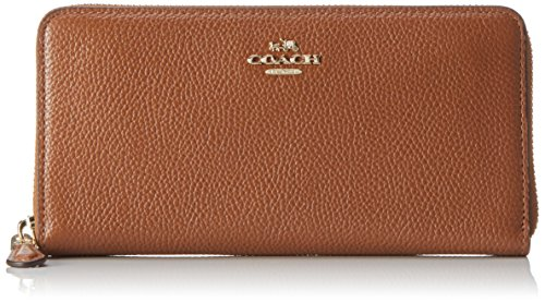 coach-accordion-zip-porte-monnaie-femme-marron-brun-clair-3x10x19-cm-b-x-h-x-t