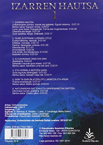 Izarren Hautsa 1. Txanela. LH 5 (DVD)