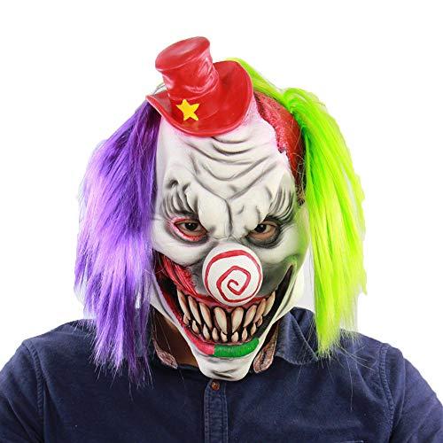 LXIANGP Latex Maske Halloween Rotkäppchen Bar Room Escape Mot Geistermaske (Halloween Mot Le)