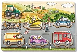 Ravensburger ministeps 04388-allererstes Parte Puzzle Vehículos