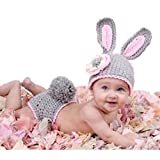 Ropa Y Accesorios Best Deals - FEITONG Bebé muchacho de las muchachas recién nacido 0-9 Mes de punto de ganchillo Minnie apoyo de la foto de ropa Trajes