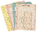 Schöne kleine frische Blumen und romantische Briefpapier -Umschlag-Paket