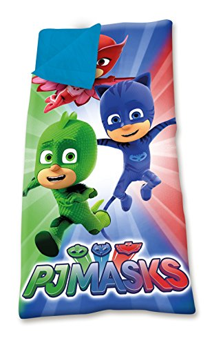 Kids Licensing - PJ Masks Sac de Couchage - Pjmask - Facilement Transportable, PJ17002