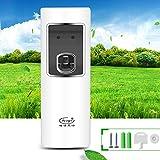 Qiman Automatisches LED Licht Sensor Aerosol Lufterfrischer Digital Spray Zufuhr Parfüm